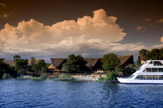 Cruise the Zambezi River at Sunset on a luxury sunset cruise