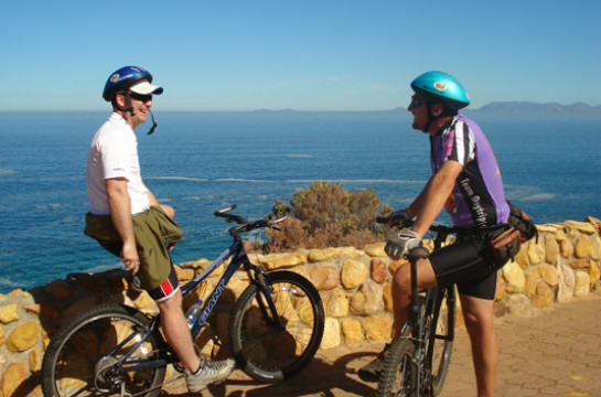 Cycle the coast through a spectacular mountain and sea paradise