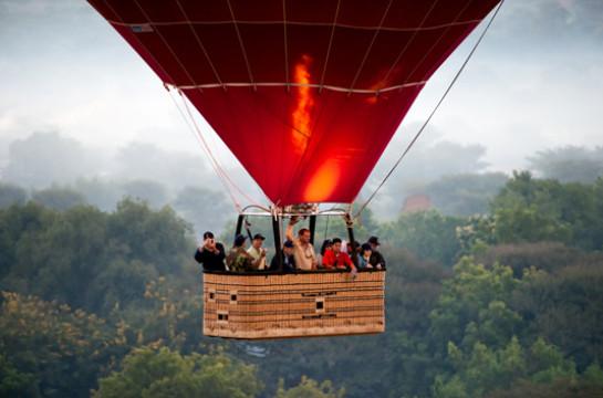 Drift over the Bushveld at Sunrise in a Hot Air Balloon