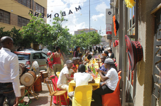 Experience a place of urban design, eclectic food and arts culture