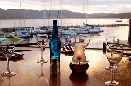 Indulge in a Knysna Waterfront Drydock dinner