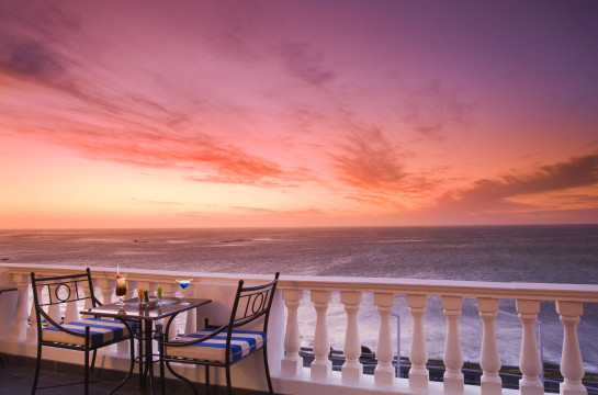 Relax and watch the sunset in sumptuous style