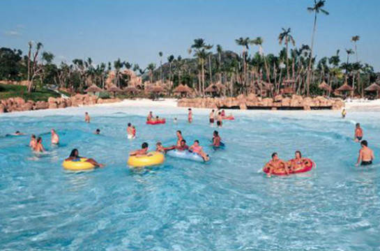 Ride The Valley of the Waves and Relax at Waterworld
