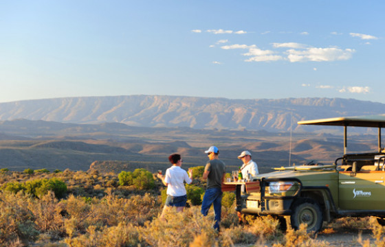 Safari at the unique Sanbona Game Reserve