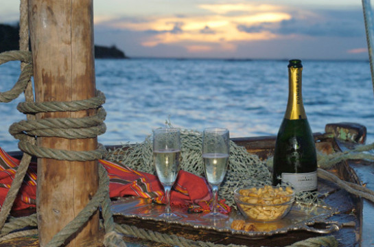 Savour a sunset dhow cruise