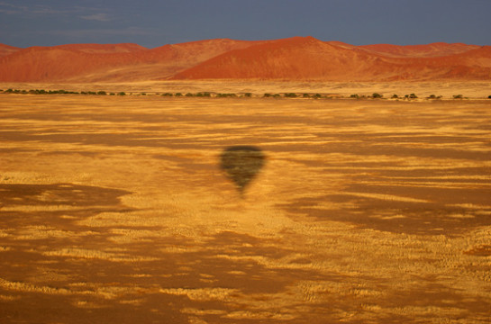 Take to the skies in a Hot Air Balloon from Swakopmund
