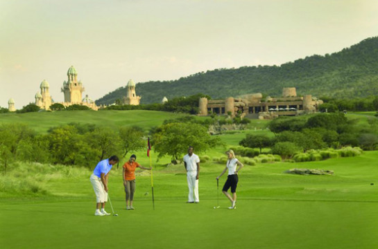 Tee off on a Championship Golf Course