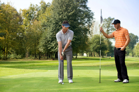 Tee off on the championship Fancourt Golf Course