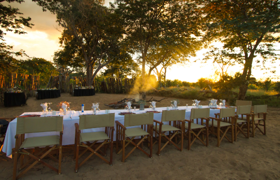 Celebrate with Boma, Bush or Airstrip gala dinners