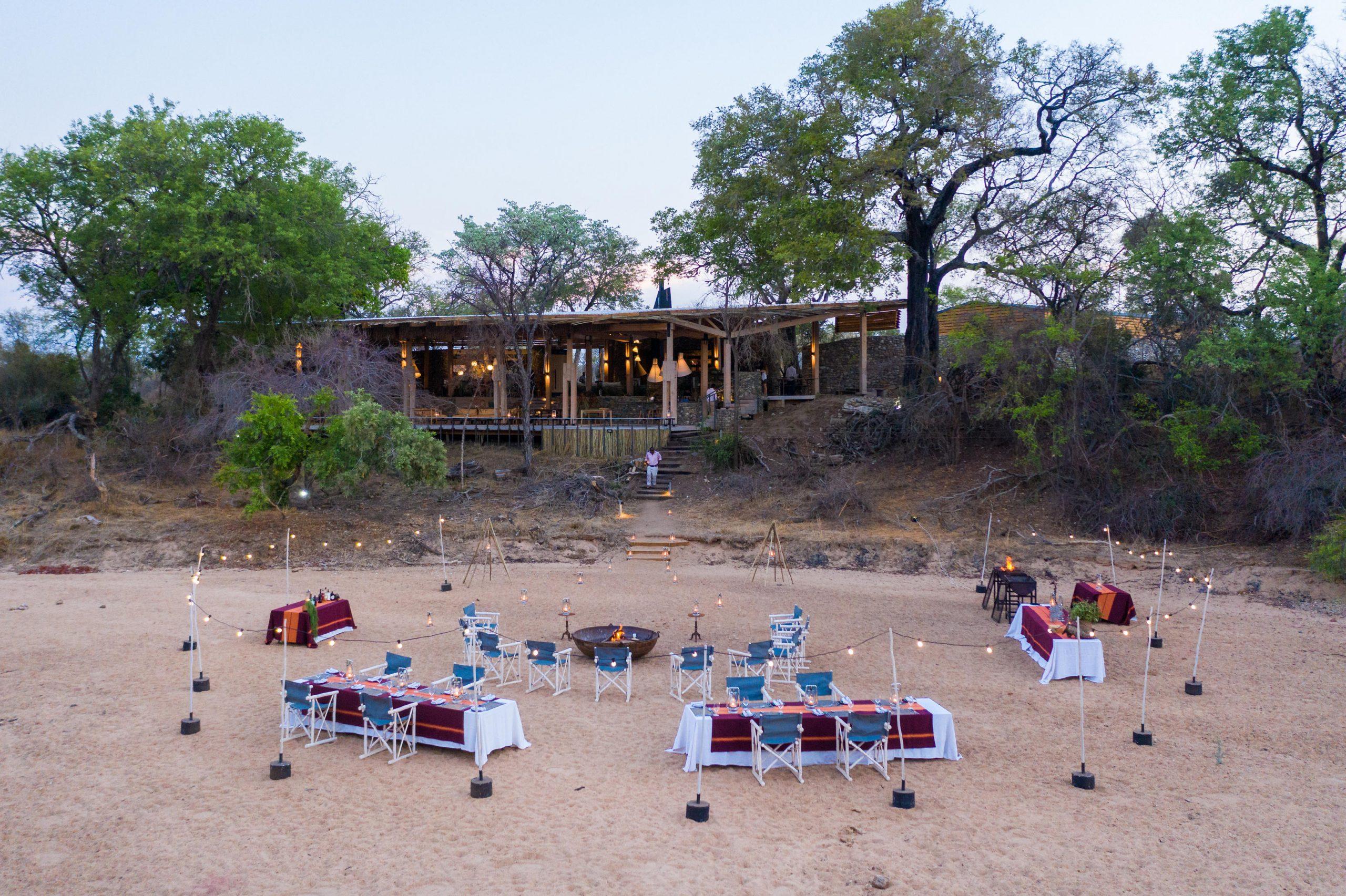 Safari at Saseka:  Ultra Luxury Tented Safari Camp